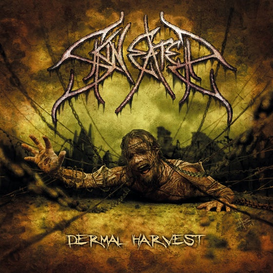 "Image of SKINEATER ""Dermal Harvest"" CD"