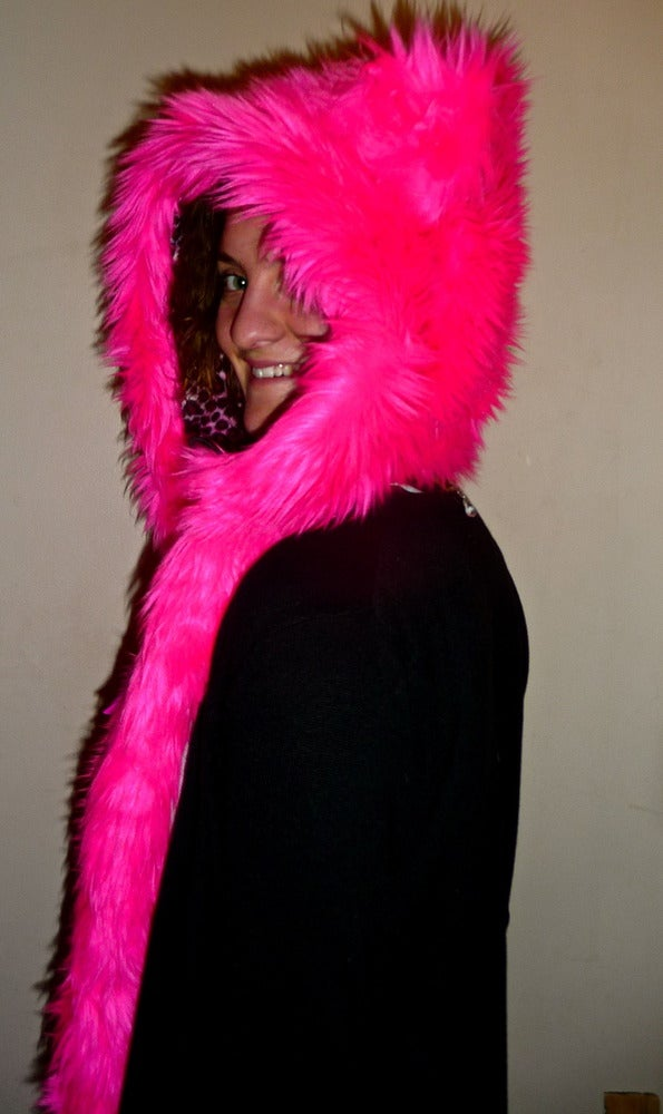 Image of Neon Pink Solid Bolli Bear