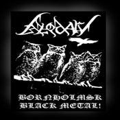 "Image of BLODARV Sew-on Patch ""Bornholmsk Black Metal"""