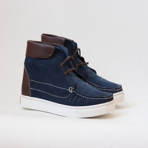 Image of 1111 / Navy Suede