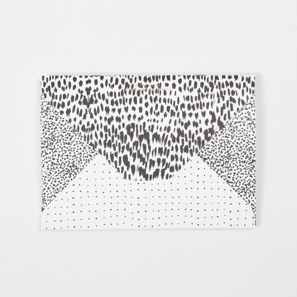 Image of PAPER STOCK Animal / Crayon-dot / Spot Diamond Flap Notebook