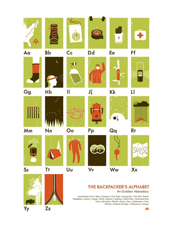 Image of The Backpacker's Alphabet