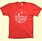 Image of The Duck Whisperer T-Shirt - RED