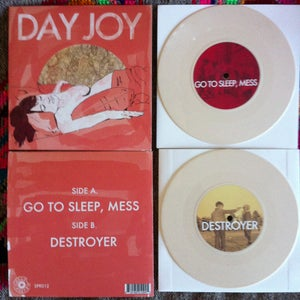 "Image of Day Joy - Go To Sleep, Mess 7"" (SPR012)"