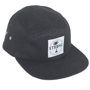 Image of 5 PANEL CAP | BLACK