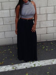 Image of Houndstooth Crop Top