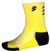 Image of Neon Yellow crew socks