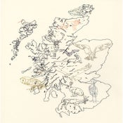Image of Susie Wright- Wildlife Map- Limited Edition Screenprint