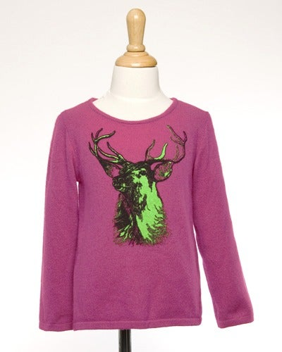 "Image of ""Buck"" Cashmere Sweater for Kids!"