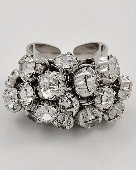 Image of Cluster Cuff Ring