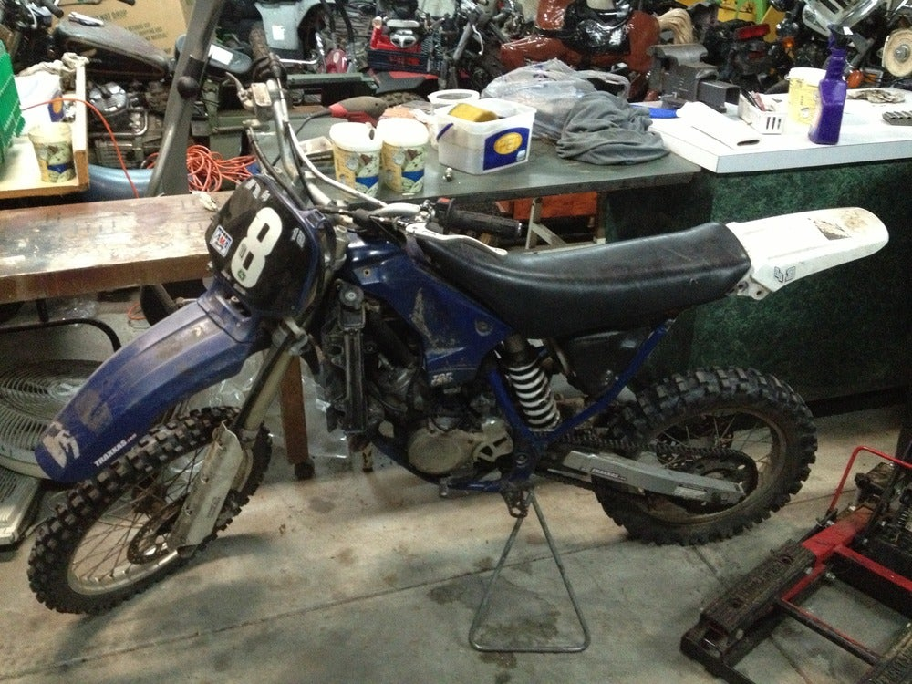 Myrtle beach motorcycle junk yard 1997 yamaha yz80 parts for Motor cycle junk yard