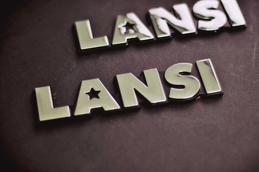 Image of LANSI Chrome Car Badge