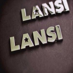 Image of LANSI Chrome Car Badge
