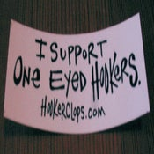 Image of One Eyed Hooker Sticker