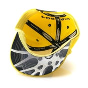 "Image of Forgiato ""F"" Snapback (Yellow)"