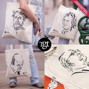 Image of The great typographers – Tote bag series