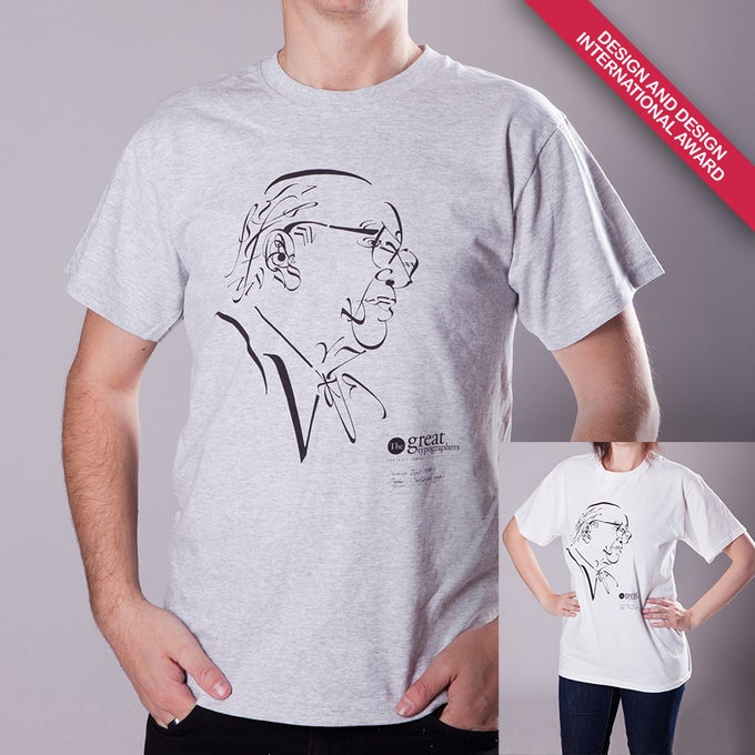 Image of The great typographers – Zapf T-shirts