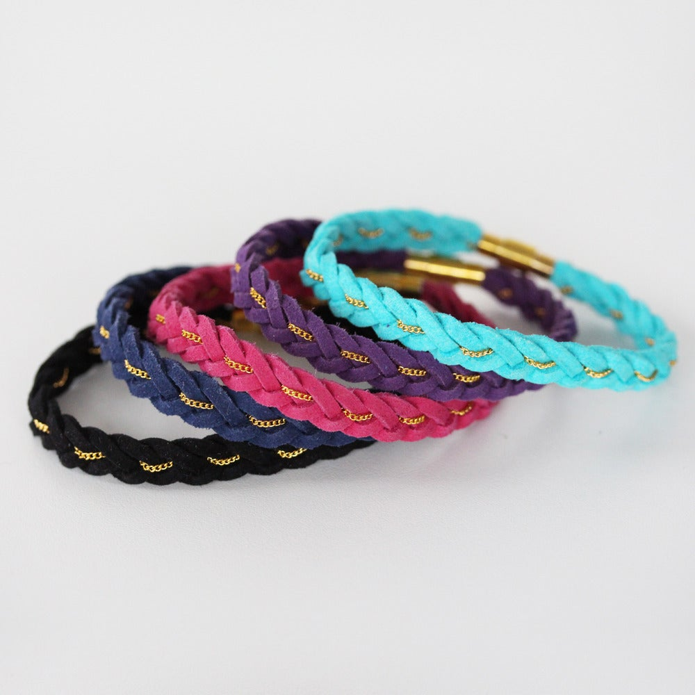 Image of Wide Braided Bracelet