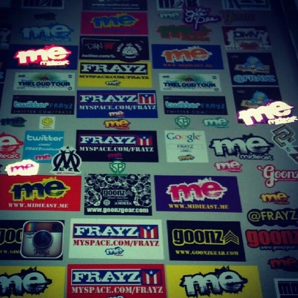 Image of Midieast Stickers