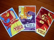 Image of YOLO stickers