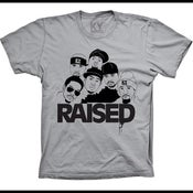 Image of *EXCLUSIVE* KY Raised NAPPY ROOTS TEE in Charcoal Grey & Black