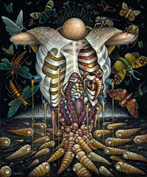 "Image of FEAST of the HAVENOTS, 20 x 24"" Signed Open Edition"