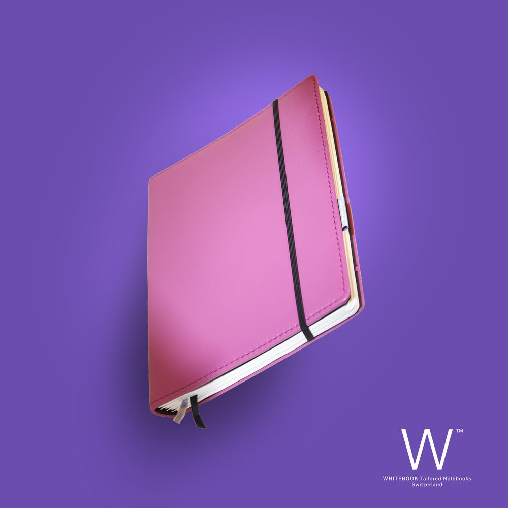 Image of WHITEBOOK PREMIUM P022w, nappa leather pink, welt-sewn