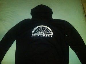 Image of Minority Bikes Logo Hoodies and Definition shirts