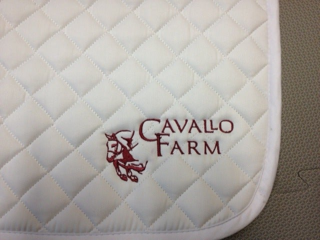 Image of Cavallo Logo All Purpose Saddle Pad