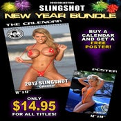 Image of 2013 Sling Shot Calendar New Year Special