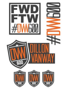 Image of DVW600 Sticker Pack