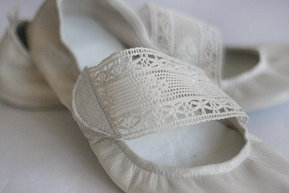 The Drifter Leather handmade shoes — Ballet Flats Foldable ...