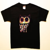 Image of owl t-shirt (toddler & youth sizes)