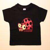 Image of lady bug t-shirt (toddler & youth sizes)