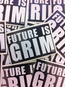 Image of Future Is Grim Sticker Bundle (50)