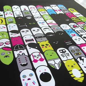 Image of 88 Ghosts Print