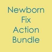 Image of Newborn Fix Action Bundle  - Photoshop Action ( CS & Higher )