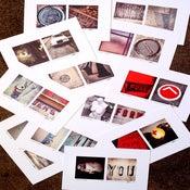 Image of * couplets : instagram photos postcard print set //