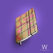 Image of Whitebook Haute Couture H003, pure wool, printed gold/pink, 240p. (fits iPad)