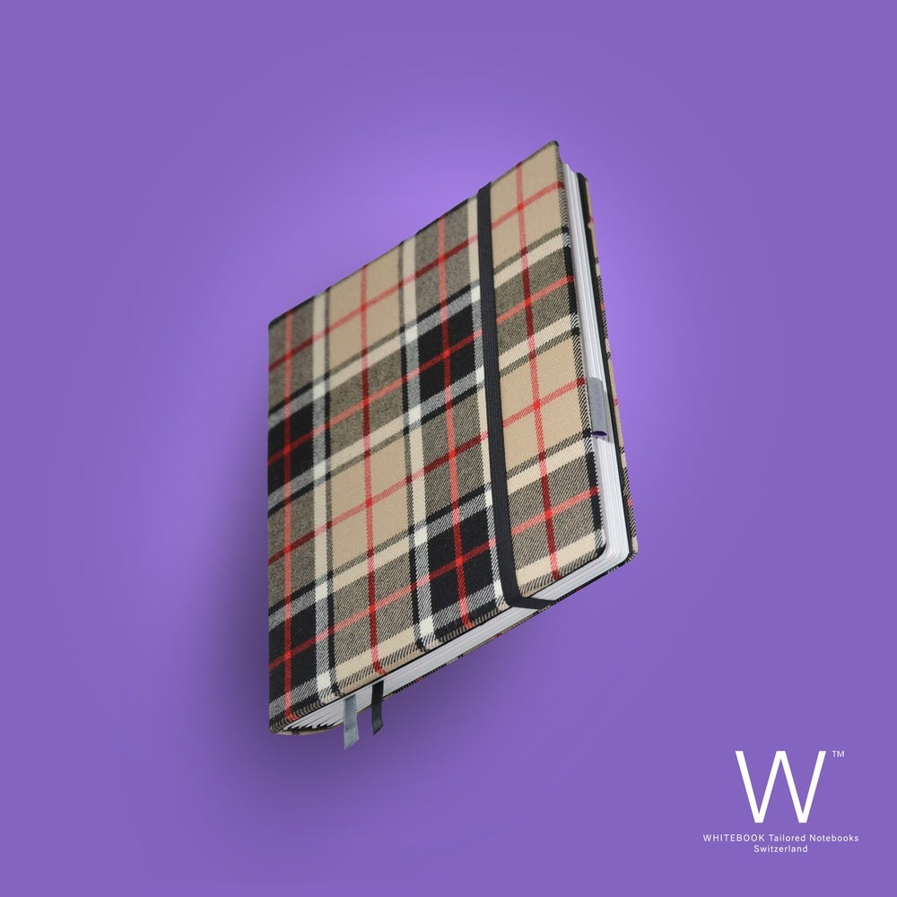 Image of Whitebook Haute Couture H012, Burberry brown, pure wool, 240p. (fits iPad / Air / Mini / Samsung)