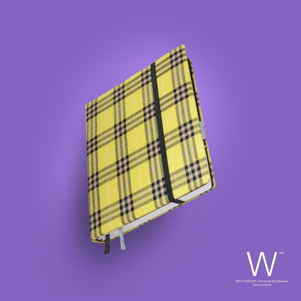 Image of Whitebook Haute Couture H013, Burberry yellow, pure wool, 240p. (fits iPad)