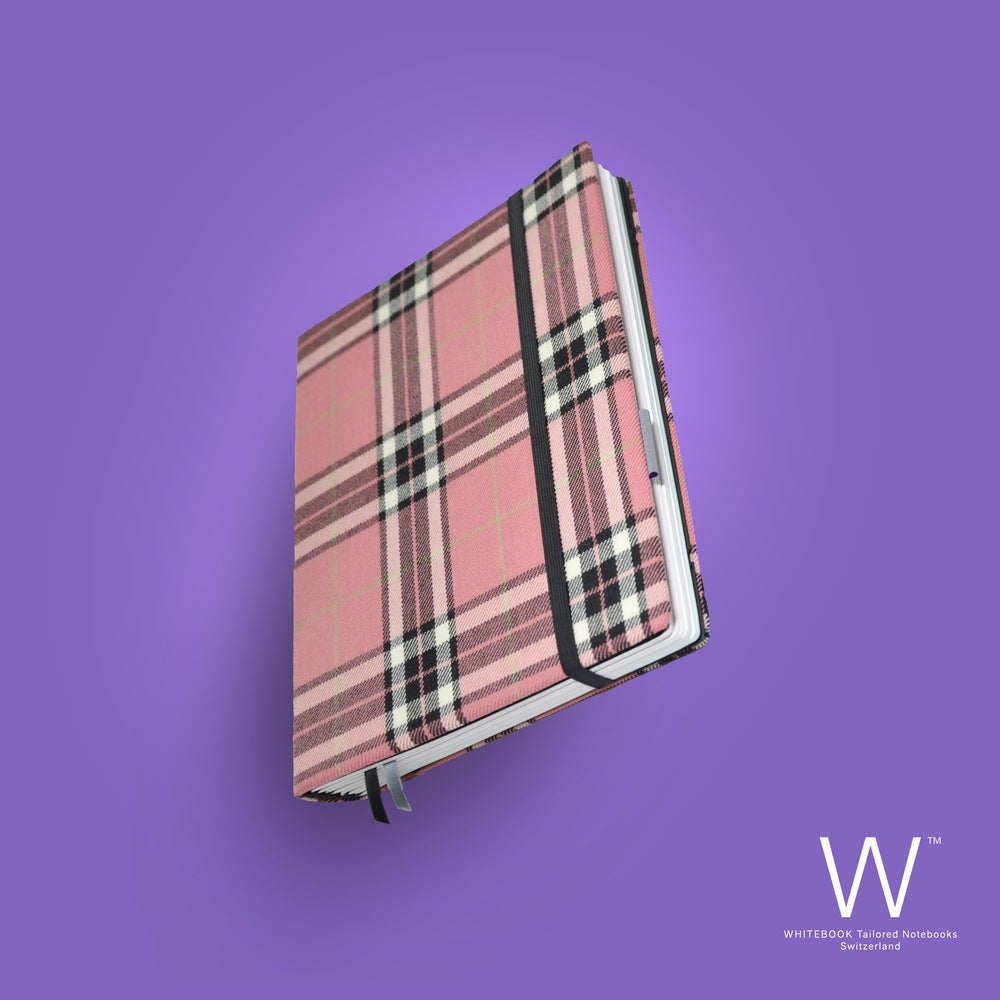 Image of Whitebook Haute Couture H014, Burberry pink, pure wool, 240 p.