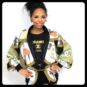 Image of Vintage Flea Market Chanel Bomber Jacket