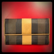 Image of Fendi stripe wallet