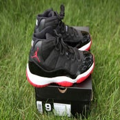 "Image of Air Jordan 11 XI Retro 'Black/Red"" 2012"