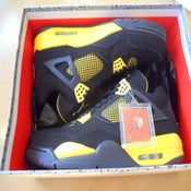 "Image of Air Jordan 4 IV Retro ""Thunder"" 2012"