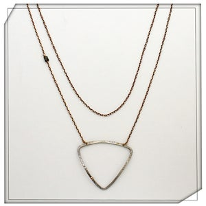 Image of Contour Form Necklace