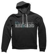 Image of Rise & Grind Hoodie (Black)