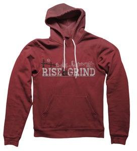 Image of Rise & Grind Hoodie (Red)