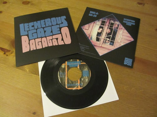 "Image of LECHEROUS GAZE - 'Bagagazo' 7"" Vinyl"
